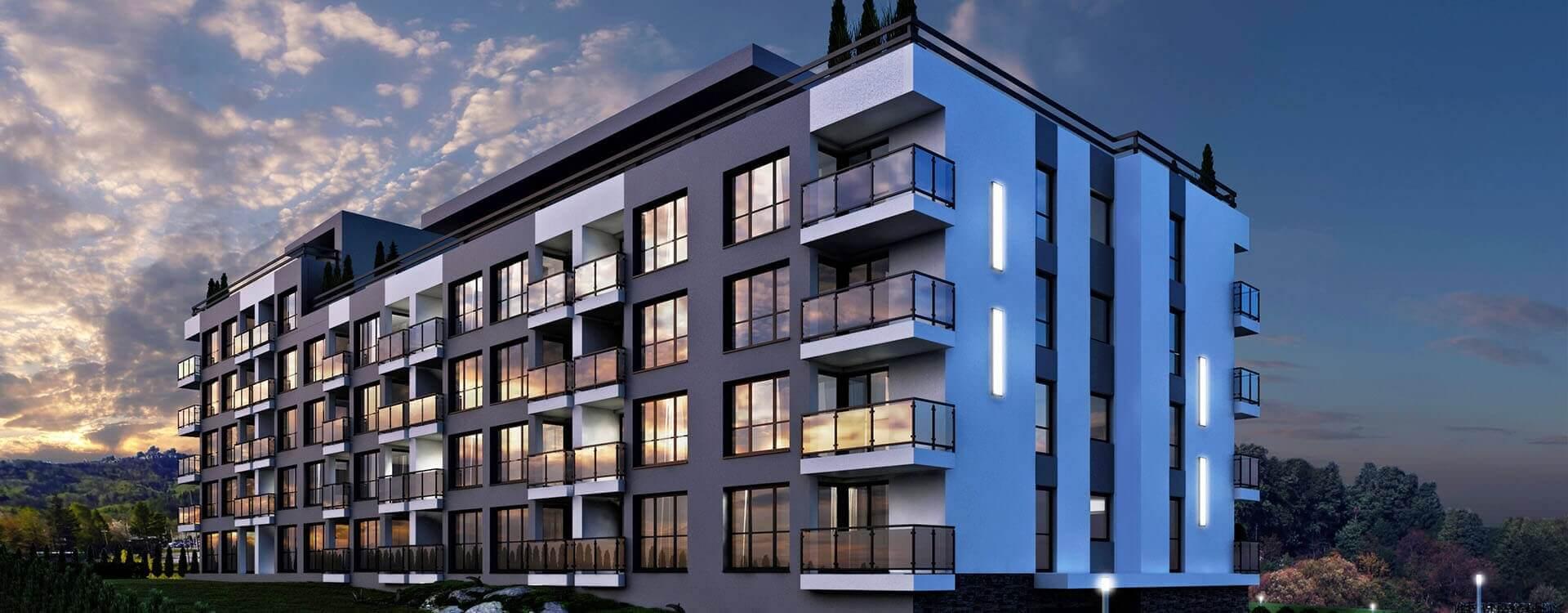 Nowoczesne 2 pokojowe Apartamenty